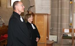Pfarrerehepaar Brigitte und Werner Schrag geht nach 35 Jahren in Ruhestand