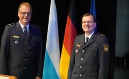 Chefwechsel beim Polizeipräsidium Unterfranken: Detlev Tolle eingeführt
