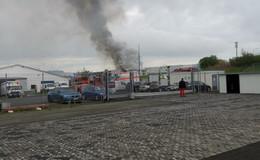 Obdachlosenheim in Flammen: Eine Person festgenommen
