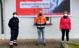 Stärkung des ländlichen Raums: Malteser eröffnen Bürgertestzentrum in Morles