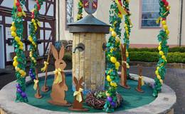 Bunte Tradition: Wer hat den schönsten Osterbrunnen?
