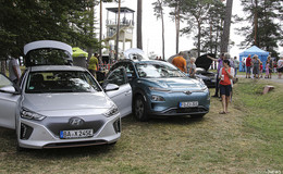 3. Aktionstag Elektromobilität auf dem US-Camp von Point Alpha