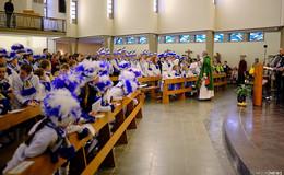 Traditioneller Fastnachtsgottesdienst der Hünfelder Karnevalisten