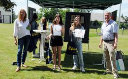 Schülerinnen der Zuse-Schule gewinnen beim 67. Europäischen Wettbewerb