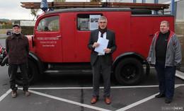 Dienststellung im Zweiten Weltkrieg: Historisches Feuerwehrauto ist zurück