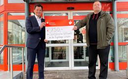Sparkasse fördert Wettbewerb um Deutsches Sportabzeichen mit 750 Euro