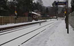 Viele Zugausfälle in Osthessen: Schnee und Eis schränken ÖPNV massiv ein