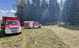 Angemeldetes Feuer sorgt für Einsatz zwischen Feldrücken und Kölzenhain