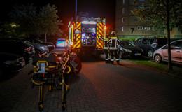 Rauch aus Wohnung am Aschenberg - Großeinsatz für Rettungskräfte