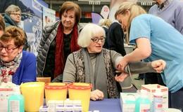 Von Blutzucker bis Akupunktur: Riesenandrang beim Gesundheitstag