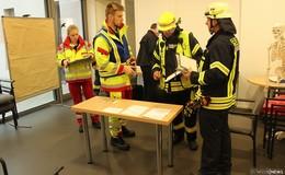 Führungsstruktur der Feuerwehren des Altkreises Hünfeld proben Ernstfall