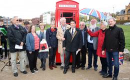 Lullus verbindet Nationen: Malmesbury-Platz feierlich eingeweiht