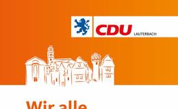 CDU startet mit umfassendem Programm zur Kommunalwahl