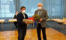 10 Jahre Dienstzeit als Bürgermeister: Thomas Fehling im Magistrat geehrt