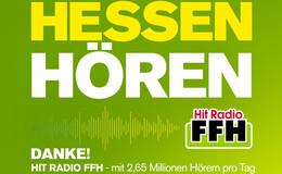 Media-Analyse: Hit Radio FFH bleibt Marktführer in Hessen