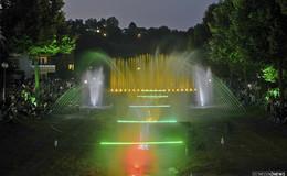 Großes Highlight des Lichterfests: Symphonie aus Wasser und Licht