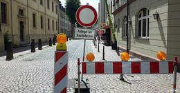 Vollsperrung der Löherstraße