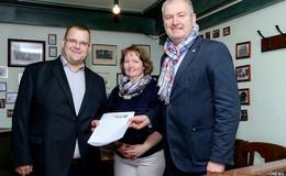 100.000 Euro Förderung vom Kreis für die Sanierung der Linde in Bimbach