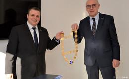 Benjamin Tschesnok übernimmt Amtsgeschäfte im Rathaus
