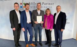 Köller & Partner am Puls der Zeit - André Köller neuer Partner