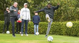 Foot-Golf wird zur neuen Trendsportart - nun auch in Osthessen möglich