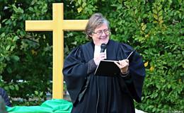 Christine Müller als neue Pfarrerin in Udenhausen und Schwarz eingeführt