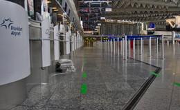 Koffer sorgt für Großeinsatz am Flughafen: Kein Sprengstoff gefunden