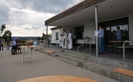 Mit Herzblut für Verein und Dorf - Sportlerheim Sargenzell eingeweiht