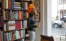 Löherstraße wird zur Kunstmeile: Exponate laden zum Bummeln ein