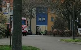 Feuerwehreinsatz im Musikerviertel? - Befahrbarkeit wird getestet