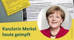 Bundeskanzlerin Angela Merkel (66) mit AstraZeneca geimpft: Ich freue mich!