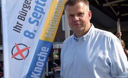 Wahl ohne Auswahl - Stefan Knoche wirbt als einziger Kandidat um Ja-Stimmen