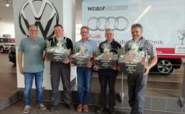 Autohaus Weber ehrt Mitarbeiter für Verbundenheit und Treue