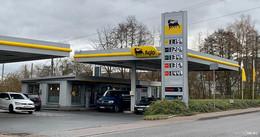 Tankstelle überfallen: Mehrere hundert Euro entwendet