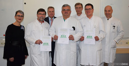 Auszeichnung: Drei AOK-Lebensbäumchen für das Krankenhaus