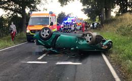 Schwerer Verkehrsunfall vor Pfordt - Beifahrer (25) tödlich verletzt