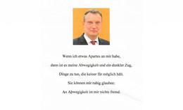 Hass gegenüber Bürgermeister Carl Christoph Möller: Fake-Flugblätter verteilt