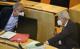 Halbzeitbilanz der Legislaturperiode: Hessen - Stark aus der Krise