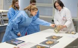 Thema: Ich bin und ich werde - Schüler besuchen das Klinikum