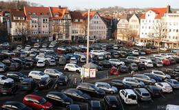 Parken am Marktplatz wird attraktiver: Nur noch bis 18 Uhr bezahlen