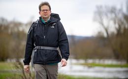 Heiko Wingenfeld bricht zur dritten Etappe der Fulda Tour auf