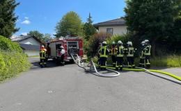 Feuerwehreinsatz in Kaligemeinde: Verrauchung im Dachstuhlbereich