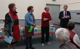 Freundschaftskreis Derbyshire Dales- Vogelsbergkreis war in England