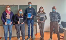 Gewappnet in Zeiten von Corona: Neue iPads für die Heinrich-von-Bibra-Schule