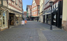 Gespenstische Innenstadt statt satter Umsätze