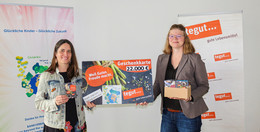 Stolze 22.700 Euro: Tegut übergibt Geschenkkarten an childrenbeyond the world