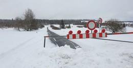 Hochrhönstraße zwischen Holzberghof und Schwarzem Moor gesperrt