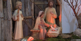 ... und sie fanden das Kind in der Krippe - Krippenausstellung in Sargenzell