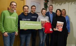 Praktikumsjahr & DRK Fulda freuen sich über erste vermittelte Auszubildende