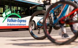 Vulkan-Express: Radtransport ab dem 16. Mai wieder möglich